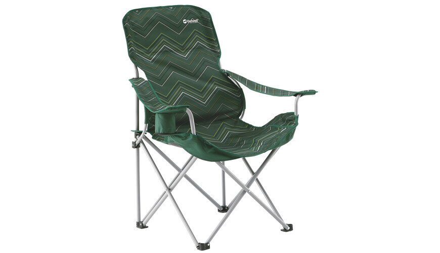Outwell Black Hills Folding Chair green